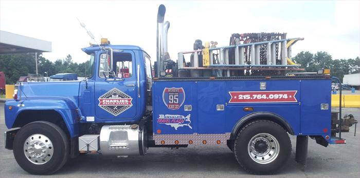 Custom truck trailer wrap philadelphia