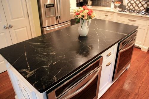 soapstone is great for indoor or outdoor kitchen countertops bathroom vanities fireplace surrounds desk tops stair treads window sills or other stone