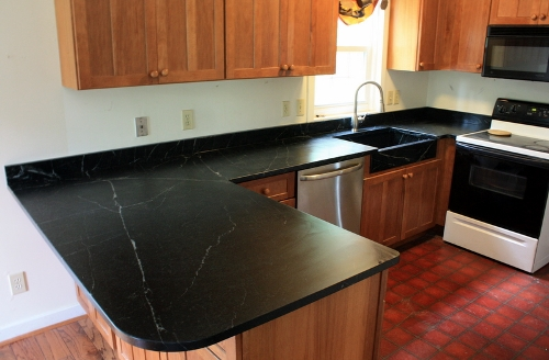 Soapstone Is A Natural Material With A Unique Look And Feel.