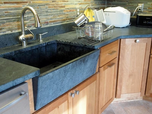 Soapstone Is Great For Indoor Or Outdoor Kitchen Countertops, Bathroom  Vanities, Fireplace Surrounds, Desk Tops, Stair Treads, Window Sills, Or  Other Stone ...