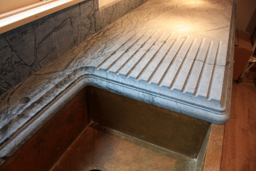 Wonderful Soapstone Is Great For Indoor Or Outdoor Kitchen Countertops, Bathroom  Vanities, Fireplace Surrounds, Desk Tops, Stair Treads, Window Sills, Or  Other Stone ...