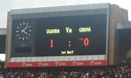 Uganda 1:0 Ghana