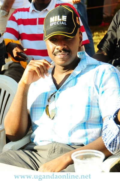Lt Col. Muhoozi Kainerugaba at Kyadondo Rugby Grounds