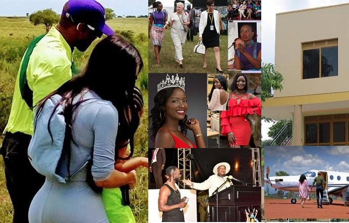 The Kanye and Kim Kardashian visit to Uganda were some of the major highlights of the year 2018