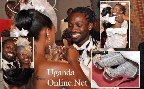 Bobi and Barbie on their wedding day in 2011