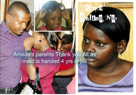 Inset is Arnella as the mum breaks down in court on Dec 15, 2014
