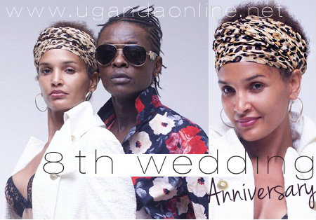 8th wedding anniversary for Chameleone and Daniella