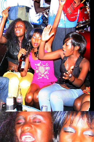 Revellers at Aziz Unplugged Show