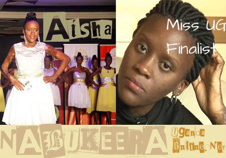 Abuse victim, Aisha Nabukeera for Miss Uganda