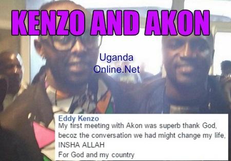Eddy Kenzo happy on meeting Akon