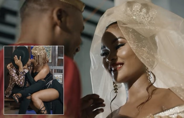 Alikiba outs his Dodo video that features Hamisa Mobetto as a video vixen