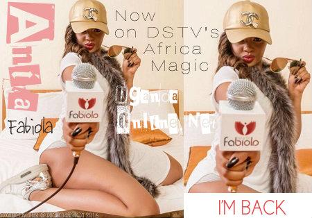 Anita FABIOLA now on DSTV's Africa Magic