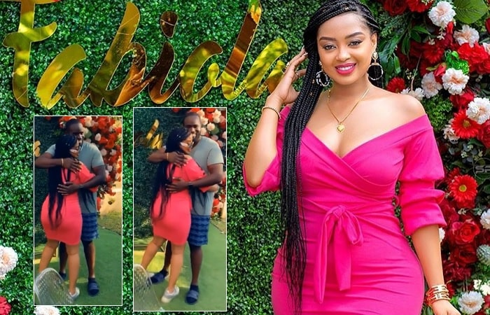 Anita Fabiola on her 26th birthday