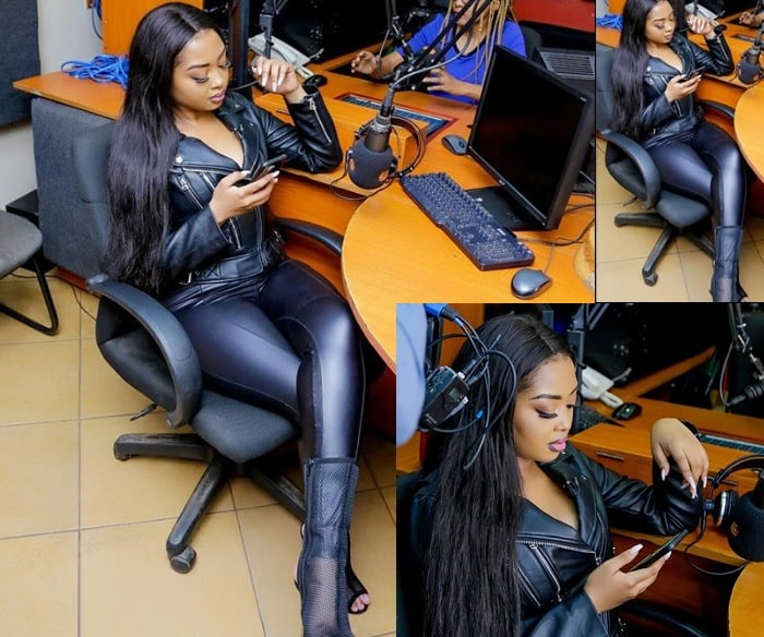 Anita Fabiola while on duty back home