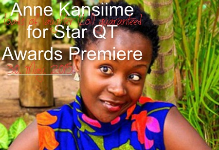 Anne Kansiime for Star QT Awards Premiere