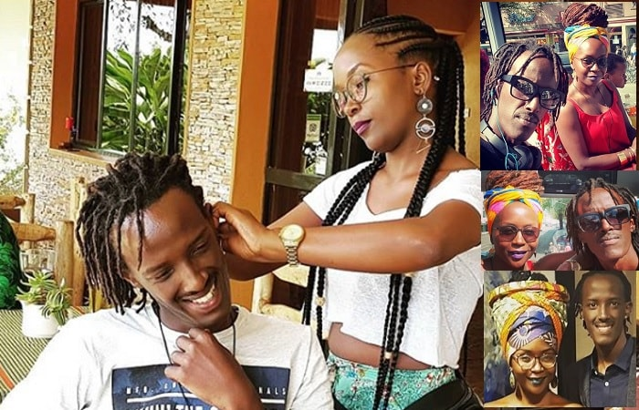 Anne Kansiime and new lover, Skylanta