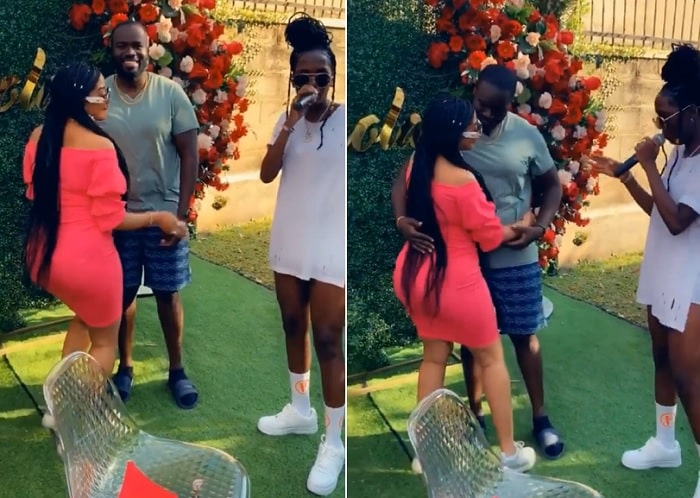 Anita Fabiola and lover Mark Ronald