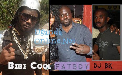 Bebe Cool, Fatboy and Deejay Beekay