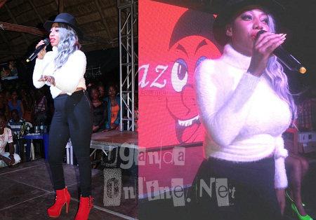 Bad Black performing at Laftaz lounge