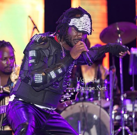 Bebe Cool performing during the Club Mega Fest show