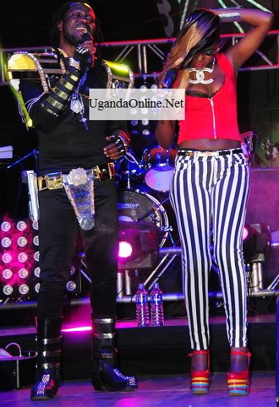 Bebe Cool and Irene Ntale