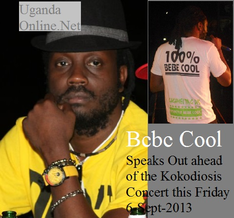 Bebe Cool speaks out on a number of issues