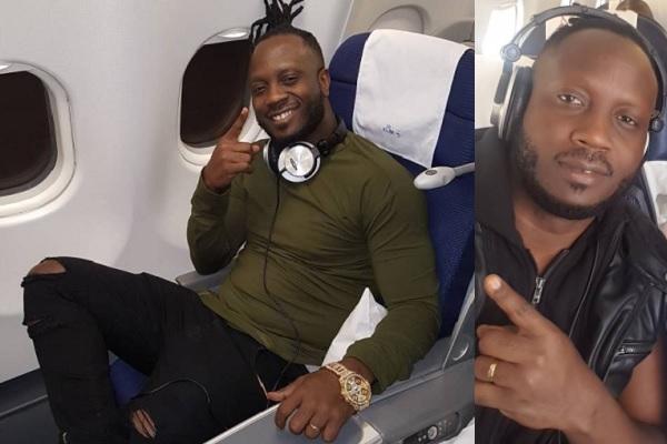 Bebe Cool on a KLM flight to LA