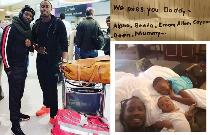 Bebe Cool was at the airport to receive Sasha Vybez