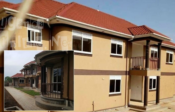 Back view of Bebe Cool's partments and inset is the front view