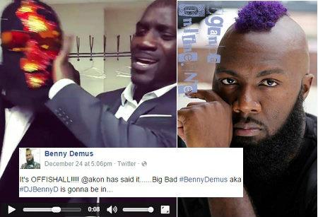 Get Outta here - Akon tells  Benny Demus