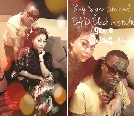 Ray Signature and Bad Black in studio