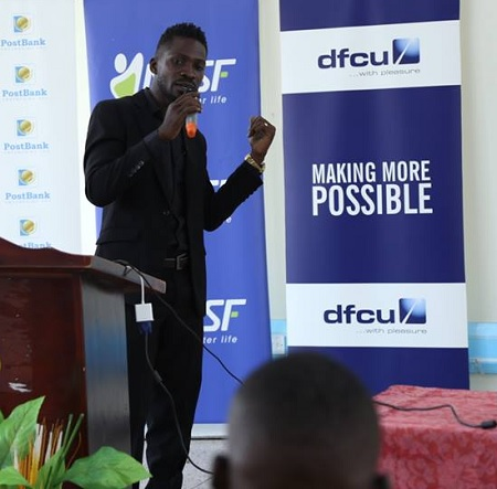Bobi Wine at the NSSF Expo