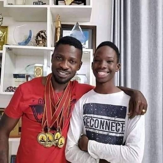 Bobi Wine and Kampala Solomon