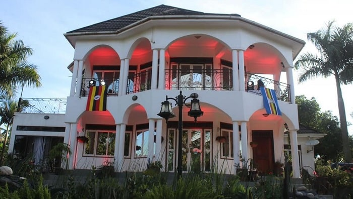 Bobi Wine's swanky home in Magere