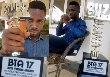 Bobi Wine has chopped off his hair as he prepares for parlaiment