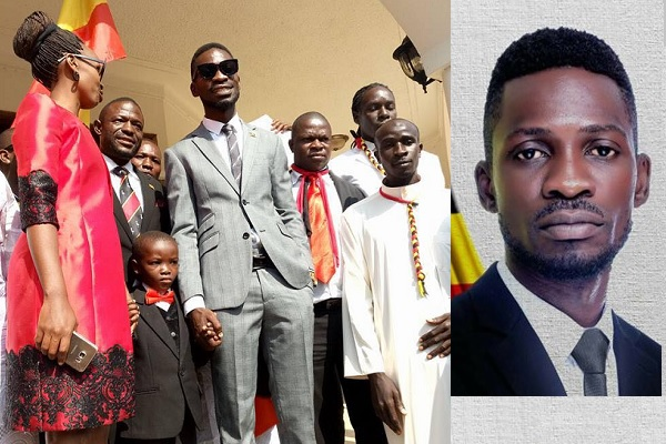 Barbie, the young pastor and Bobi Wine