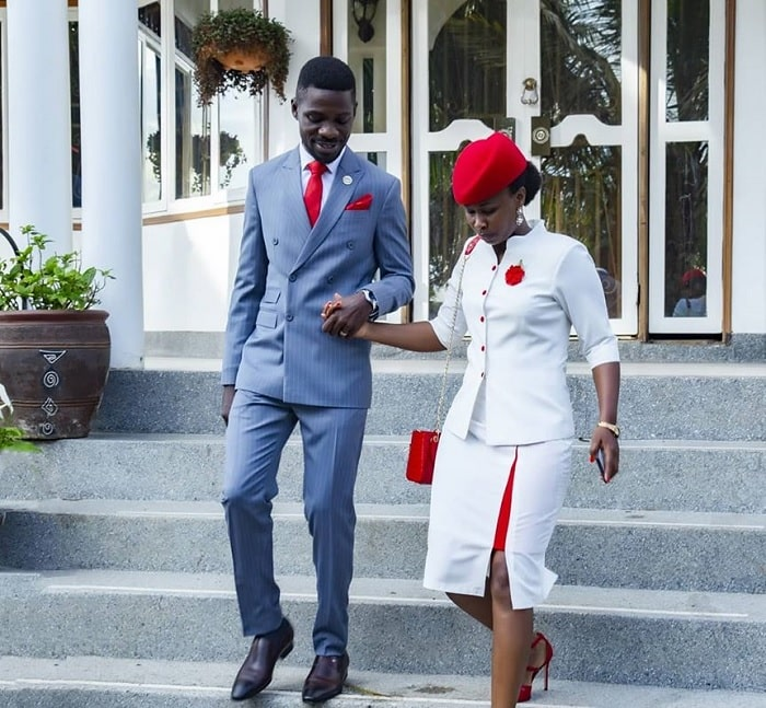 Bobi Wine and Barbie Kyagulanyi