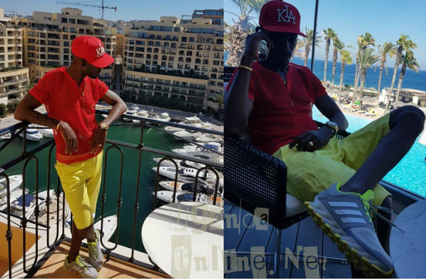 Bobi Wine getting ideas for his One Love Beach