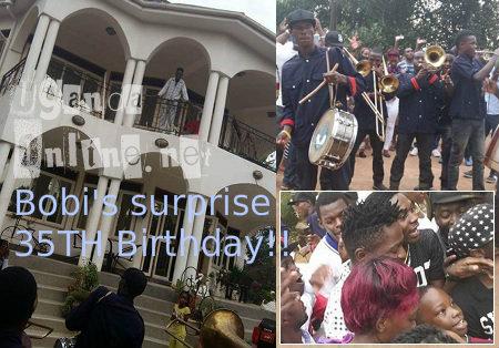 Bobi's surprise 35th birthday