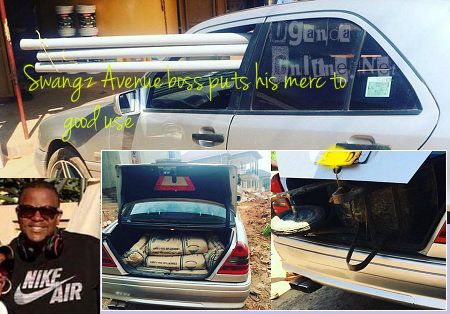 Swangz Avenue boss, Benon Mugumbya, puts his merc to good use