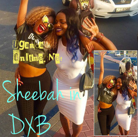 Sheebah and Bridget in Dubai