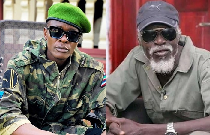 Chameleone and the late Major General Kasirye Ggwanga