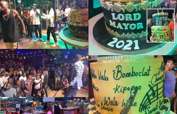 DNA Lounge was thronged with Chameleone fans as he celebrated his 40th birthday