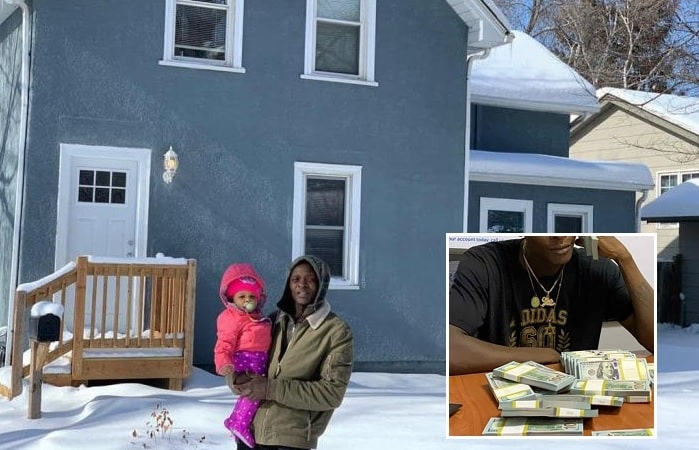 Chameleone is the proud owner of this pad in Atlanta, USA
