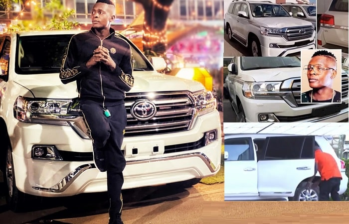 Chameleone says his Land Cruiser V8 was acquired through his sweat and fan love