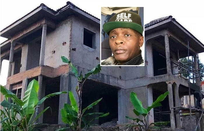 Chameleone shared this house pic to his fans on Instagram