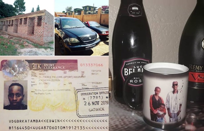 These were some of the things Kats pulled out to prove that he is rich