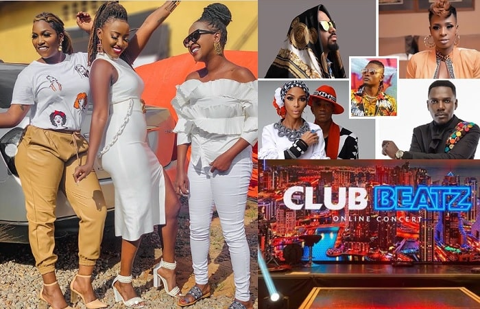 Irene Ntale, Lydia Jazmine and other Club Beatz artists