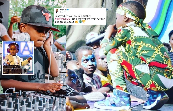 Youngest world rapper DJ Arch Jr to do a song with Fresh Kid