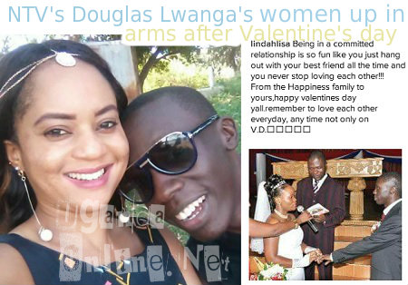 Lindah's valentine message rubbed DL's ex's the wrong way